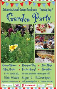 poster garden fundraiser