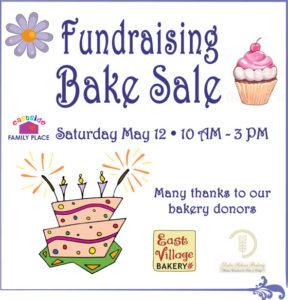 ESFP fundraising bake sale May 12